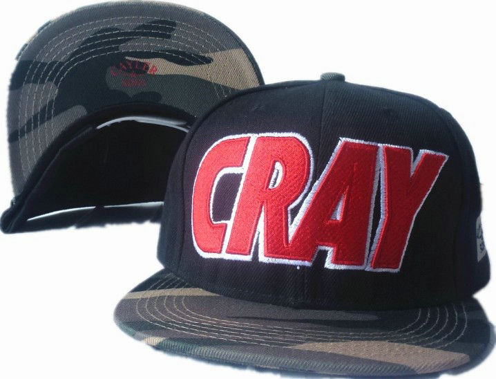CAYLER & SONS Black Snapbacks Hat GF 1