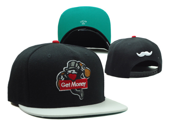 CAYLER & SONS Black Snapbacks Hat SF 0606
