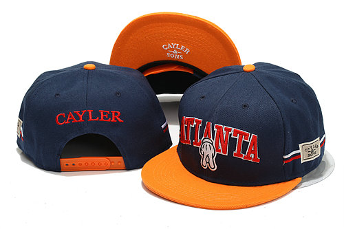 CAYLER & SONS Blue Snapback Hat YS