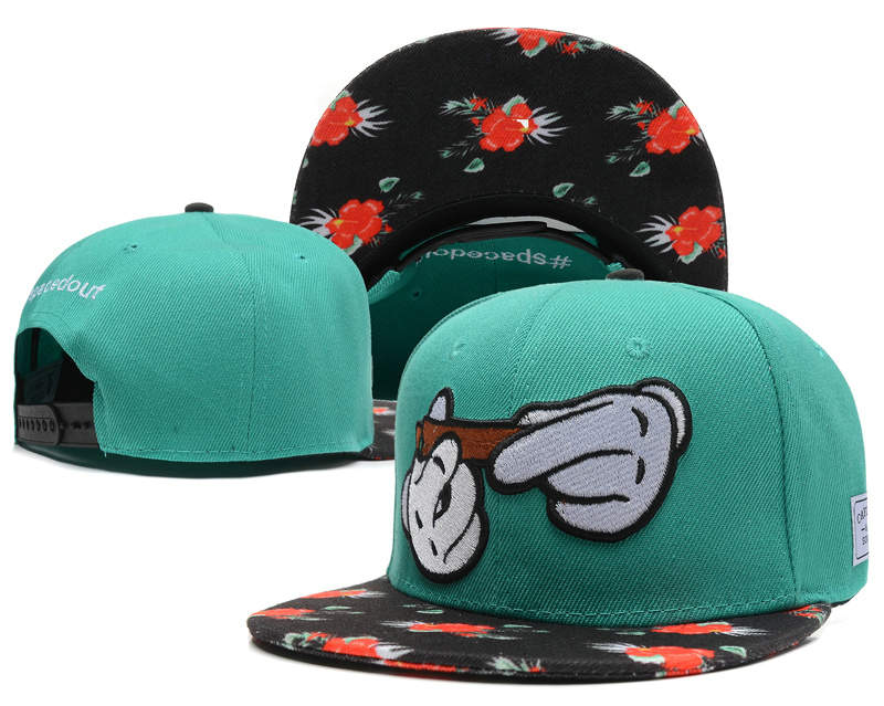 CAYLER & SONS Green Snapback Hat SD 0512