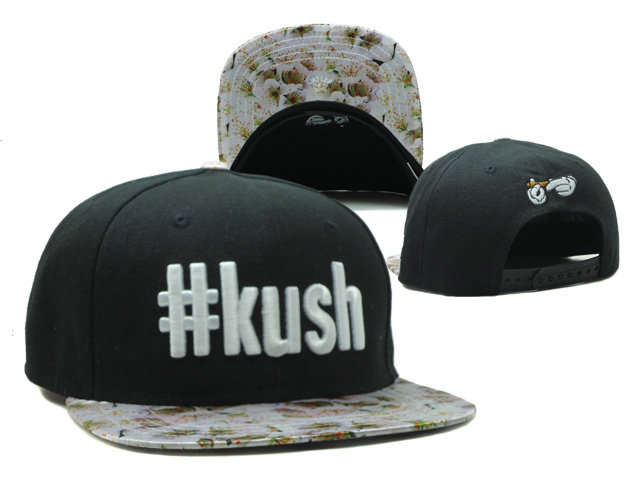 CAYLER & SONS Kush Black Snapback Hat SF 0512