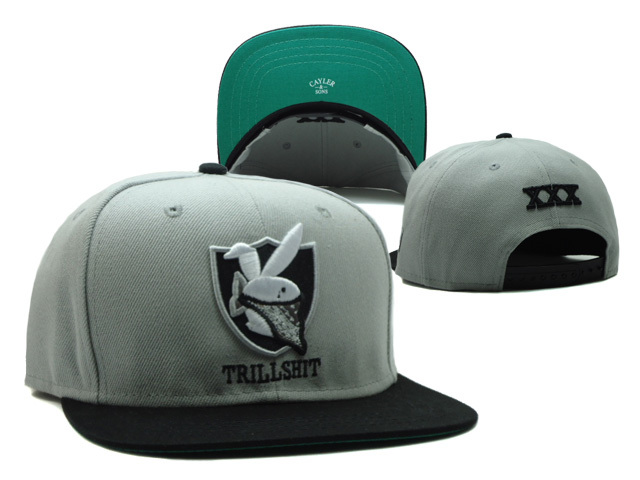 CAYLER & SONS Trillshit Grey Snapback Hat SF 0512