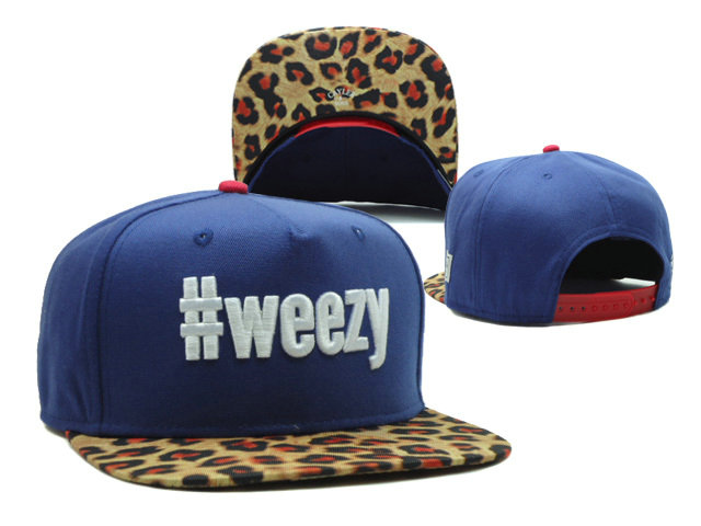 CAYLER & SONS Weezy Blue Snapback Hat SF 0512