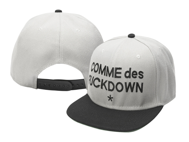 COMME des FUCKDOWN Snapback Hat SF 1