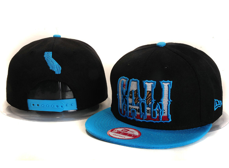 Califomia Republic Collection Black Snapback Hat YS 2