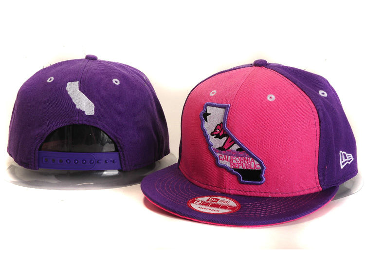 Califomia Republic Collection Snapback Hat YS