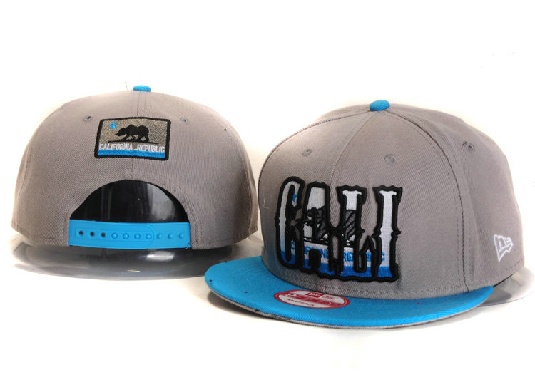 Califomia Republic Collection Grey Snapback Hat YS