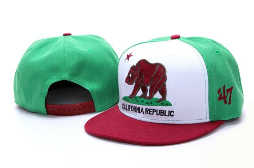 Califomia Republic Collection Hat YS4