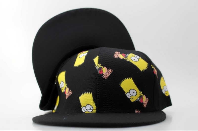 Cartoon Simpson Snapback Hat QH 2 0721