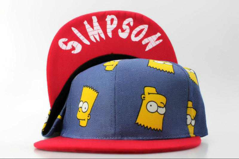 Cartoon Simpson Snapback Hat QH 0721