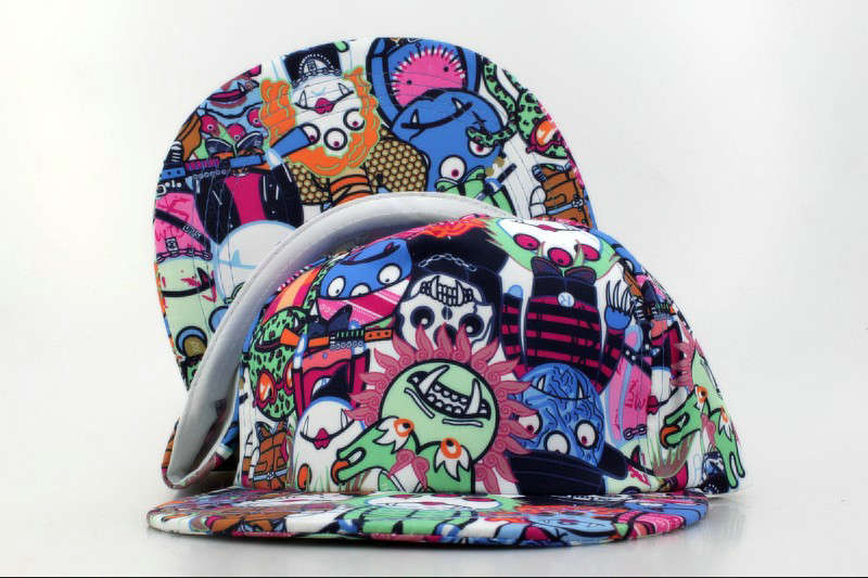 Cartoon Snapback Hat QH 1 0721