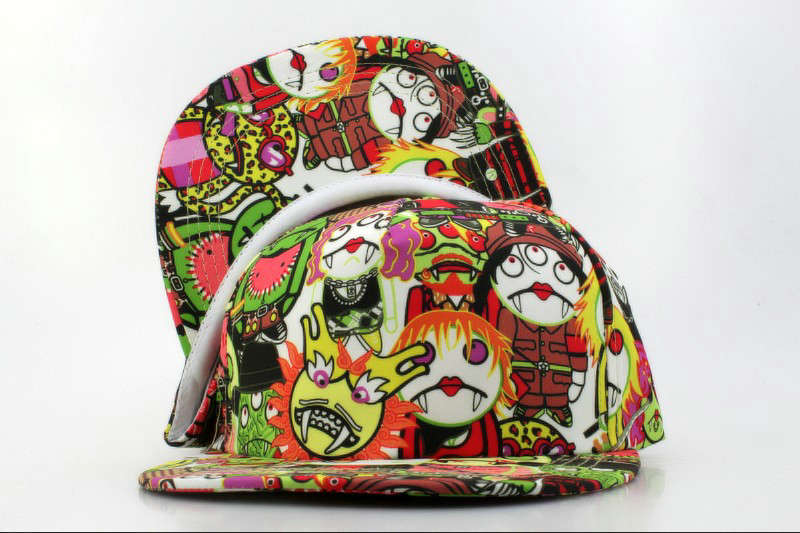 Cartoon Snapback Hat QH 2 0721