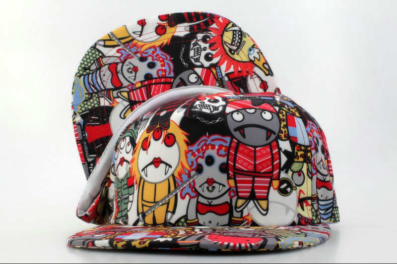 Cartoon Snapback Hat QH 3 0721