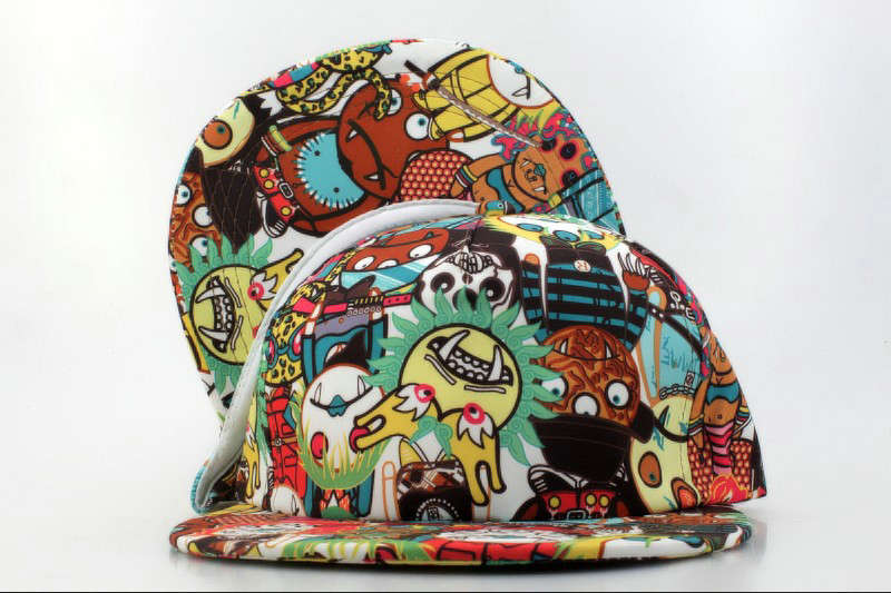 Cartoon Snapback Hat QH 0721