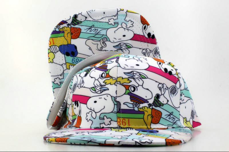 Cartoon SNOOPY Snapback Hat QH 0721