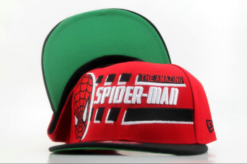 Spider Man MARVEL Comics Snapback Hat QH