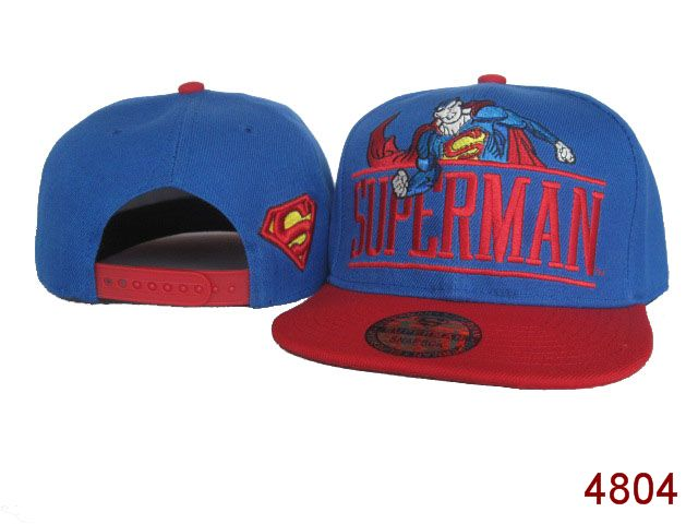 Super Man Snapback Hat SG01