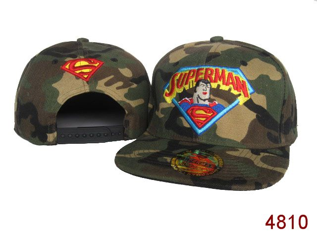 Super Man Snapback Hat SG07