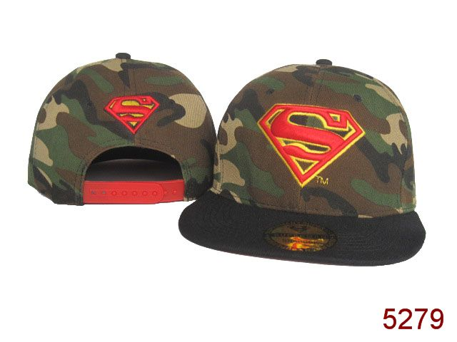 Super Man Snapback Hat SG12