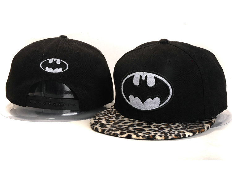 Batman Black Snapback Hat YS