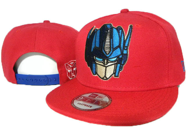 Cartoon Red Snapback Hat DD 0613