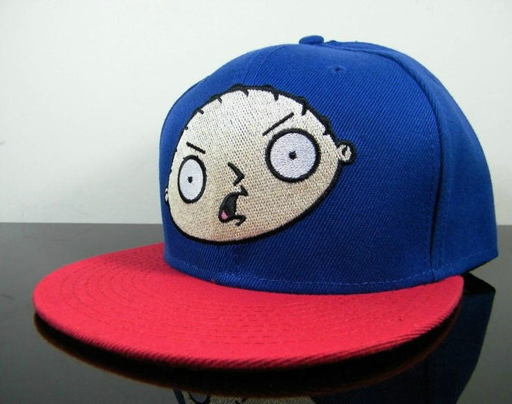 Bigbang G-Dragon Blue Snapbacks Hat GF