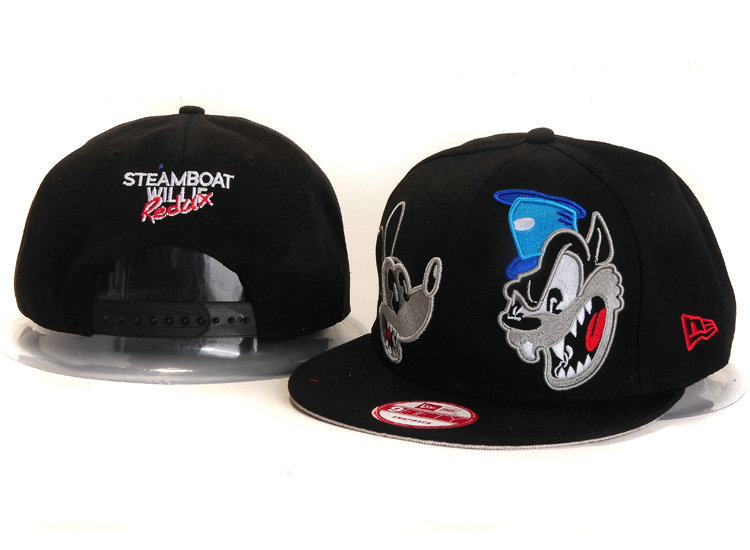 Cartoon BlackSnapback Hat YS