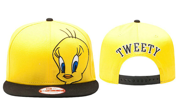 Cartoon Yellow Snapback Hat GF