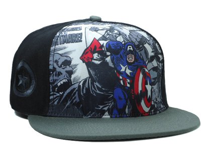Cartoon Snapback Hat SF-H (6)