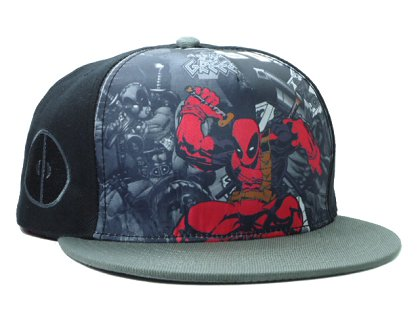 Cartoon Snapback Hat SF-H (7)