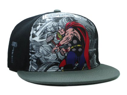 Cartoon Snapback Hat SF-H (18)