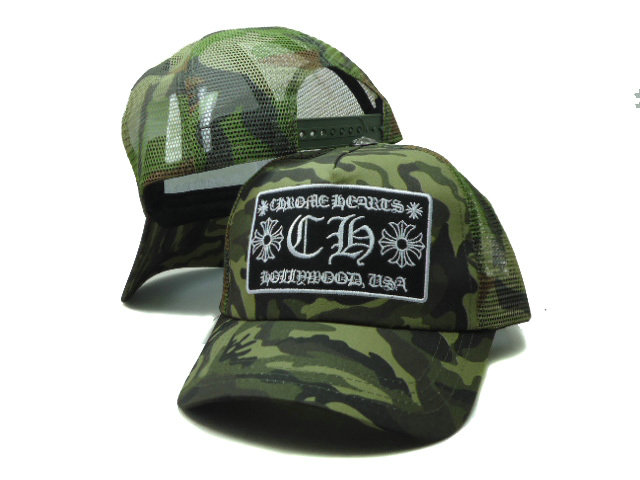 Chrome Hearts Mesh Snapback Hat SF 2 0701