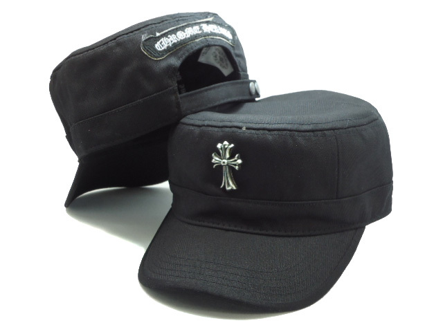 ChromeHearts Black Snapback Hat SF2 0512