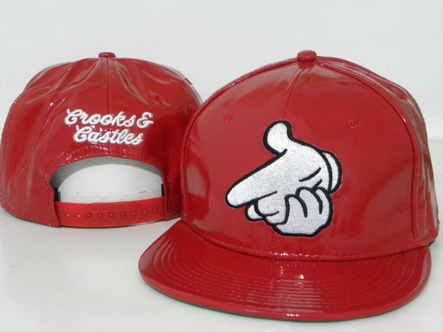 Crooks and Castles leather Hat DD3