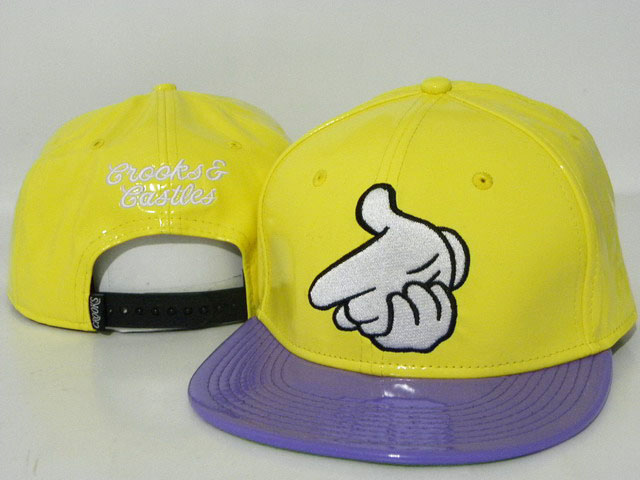Crooks and Castles leather Hat DD5
