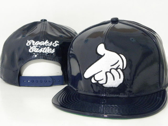 Crooks and Castles leather Hat DD6
