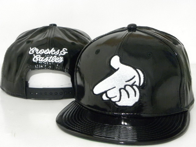 Crooks and Castles leather Hat DD7