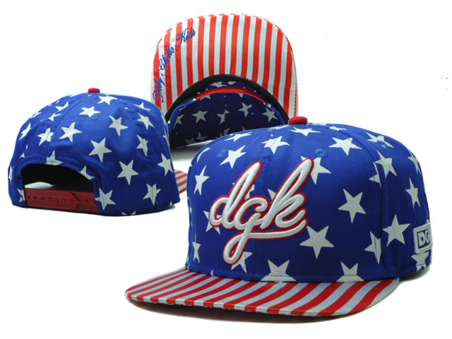 DGK Blue Snapback Hat SF