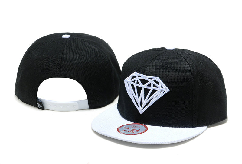 Diamonds Supply Co. Black Snapback Hat TY