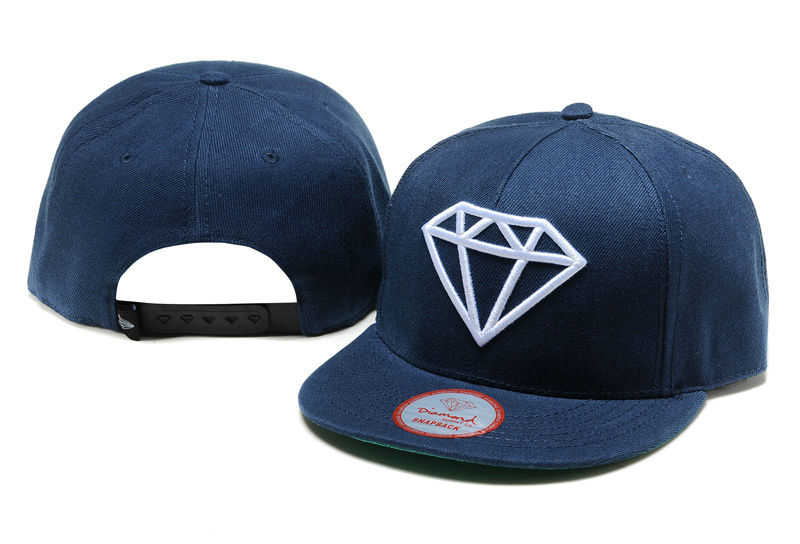 Diamonds Supply Co. Blue Snapback Hat TY