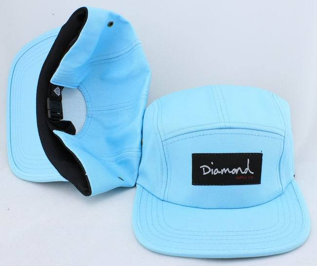 DIAMOND SUPRELY.CO 5-PANEL HAT JT5