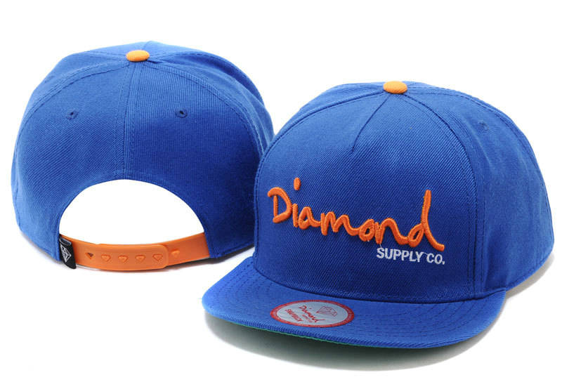 Diamonds Supply Co. Blue Snapback Hat TY 0512