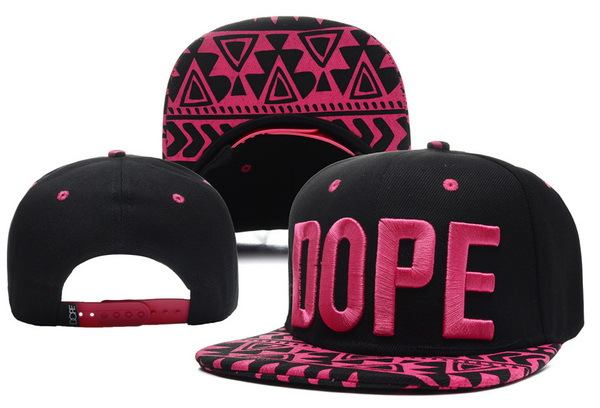 Dope Retro Black Snapback Hat XDF 2 0528