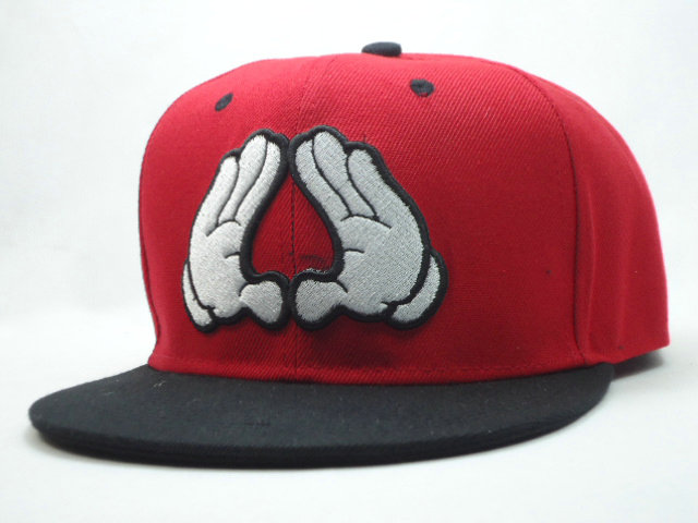 Dope Red Snapbacks Hat SF
