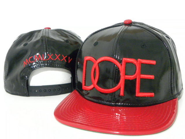 DOPE Snapback leather hat DD01