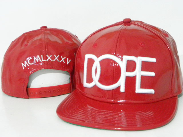 DOPE Snapback leather hat DD02