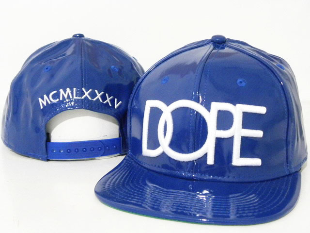 DOPE Snapback leather hat DD03