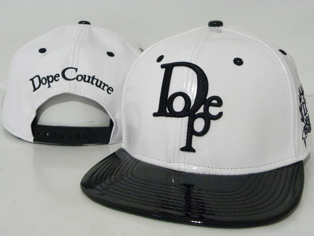DOPE Snapback leather hat DD04