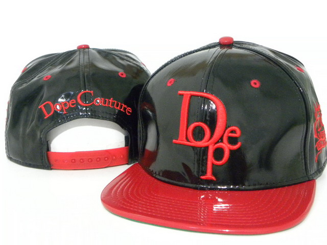 DOPE Snapback leather hat DD06