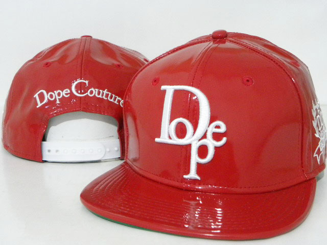 DOPE Snapback leather hat DD07